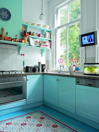 Por Su Alta Resistencia Y Rápido Secado, La Pintura Acrílica (también  Llamada Látex) Es Altamente Recomendable Para La Cocina. Para Una Máxima  Protección De ...