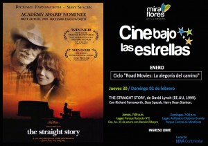 Straight Cine bajo las estrellas Miraflores